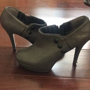 Forever21 Grey Booties